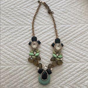 Jcrew stone necklace